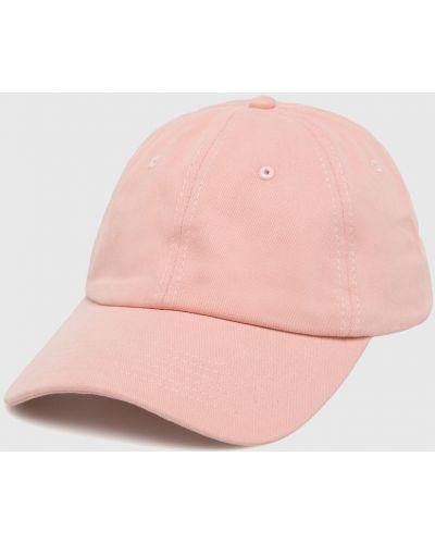 Розовая шапка хлопковая True Spin