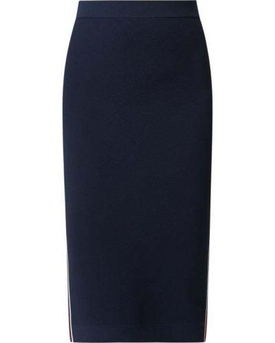 Niebieska spódnica midi z nylonu Michael Michael Kors