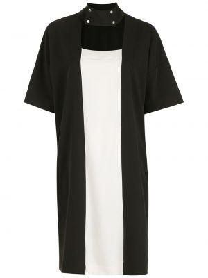 Платье мини короткое - черное Gloria Coelho