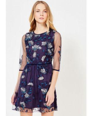 Повседневное платье синее весеннее Blugirl Folies