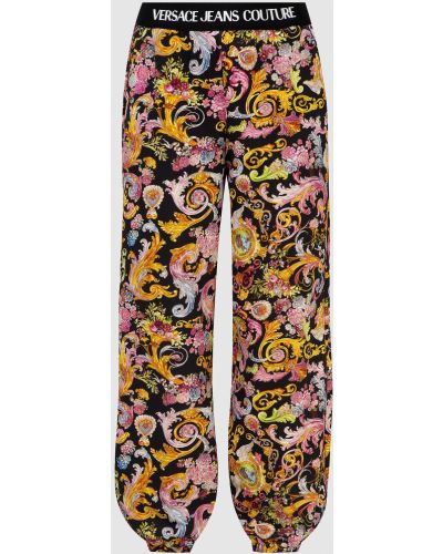 Черные спортивные брюки Versace Jeans Couture