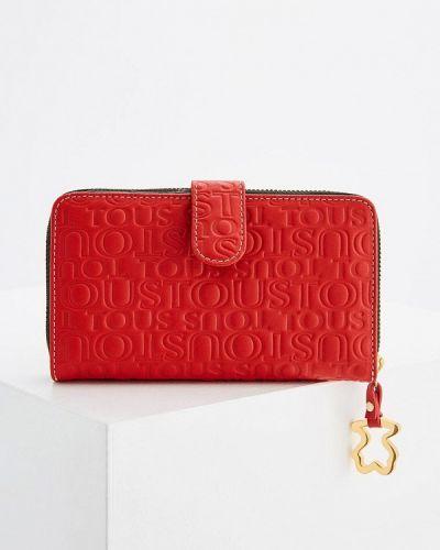Красный кошелек Tous