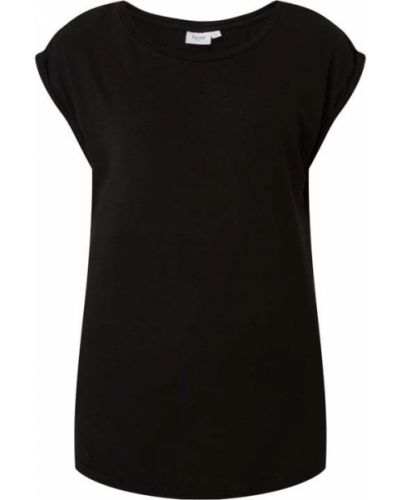 T-shirt krótki rękaw - czarna Saint Tropez