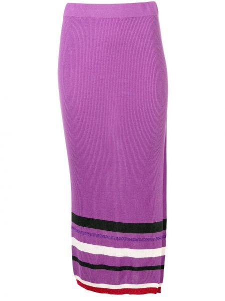 Фиолетовая ажурная юбка макси Cashmere In Love