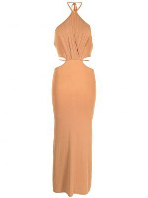 Платье миди - оранжевое Manning Cartell