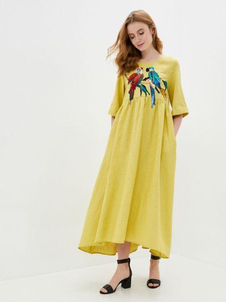 Платье прямое весеннее Yukostyle