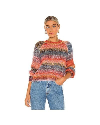 С рукавами акриловый вязаный свитер с воротником Cupcakes And Cashmere