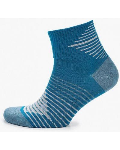 Голубые носки Nike
