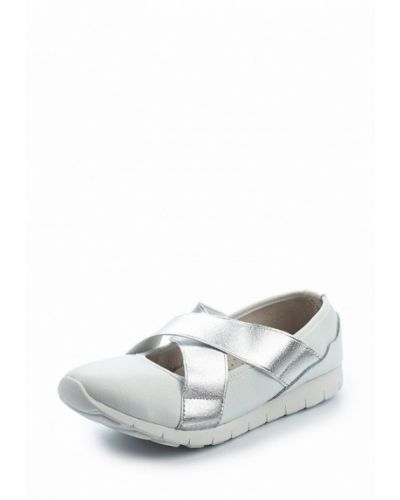 Белые балетки Zenden Comfort