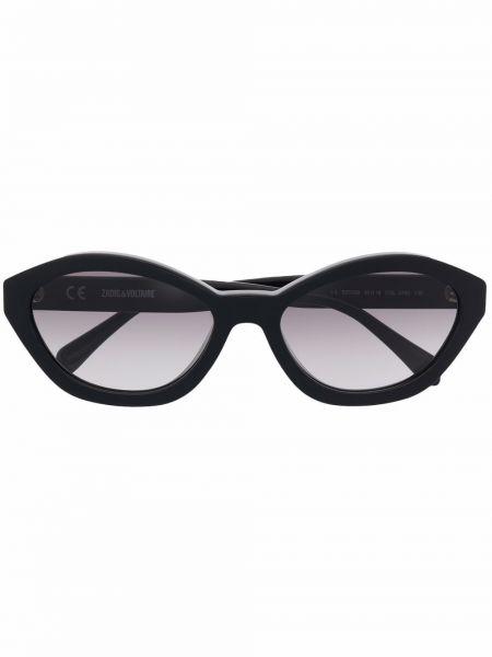 Czarne okulary Zadig&voltaire
