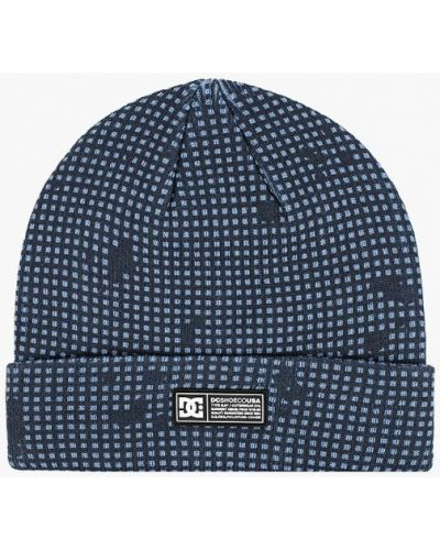Синяя шапка Dc Shoes