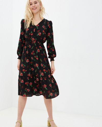 Повседневное черное платье Marks & Spencer