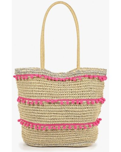 Пляжная сумка соломенная Dorothy Perkins