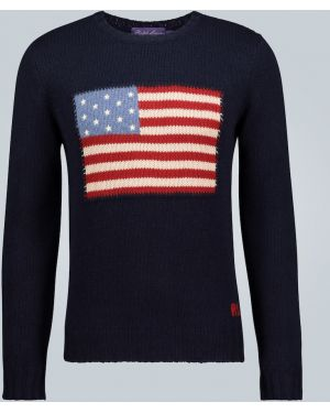 Sweter włoski kaszmir Ralph Lauren Purple Label