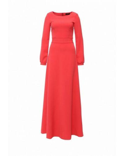 Платье коралловый красный Luann