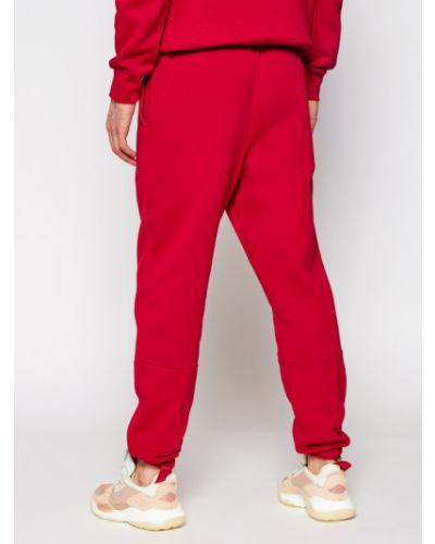 Spodnie do spodni, czerwony Jordan