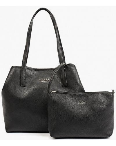 Черная зимняя сумка Guess