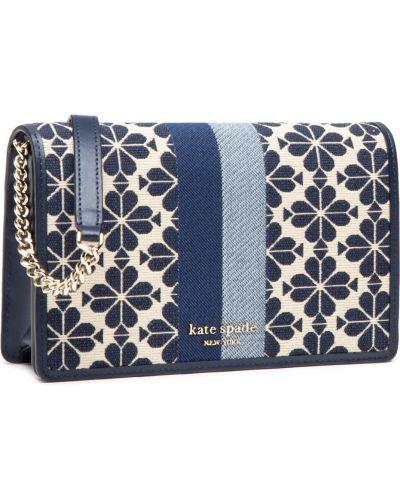Niebieski portfel Kate Spade