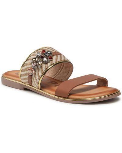 Brązowe sandały casual Gioseppo