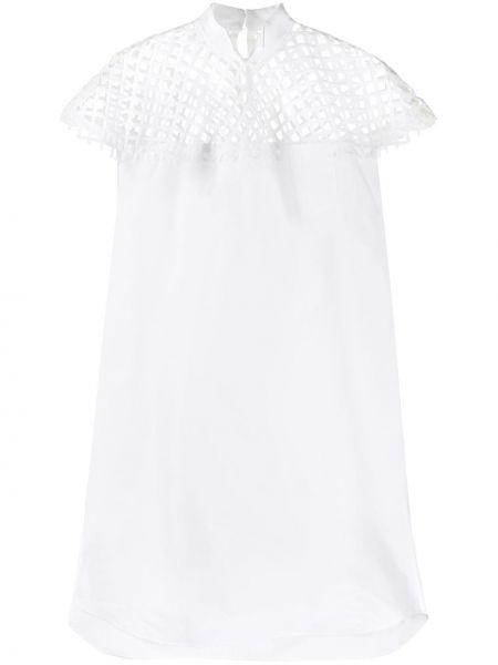 Платье миди на пуговицах сетчатое Sacai