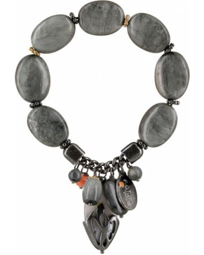 Серый браслет Nature Bijoux