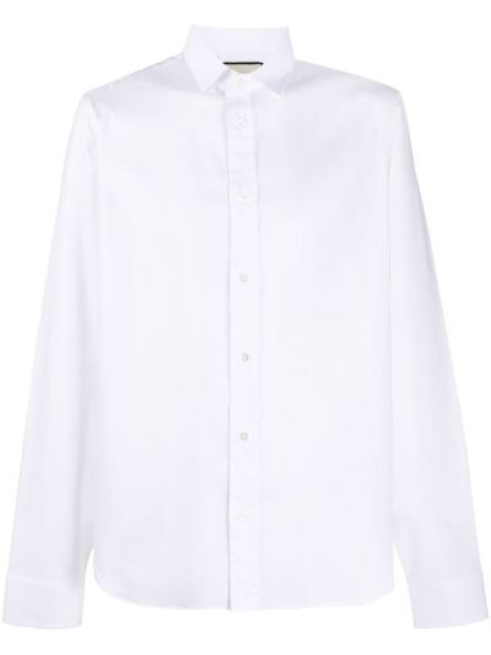 Koszula z długim rękawem klasyczna Oxford Gucci