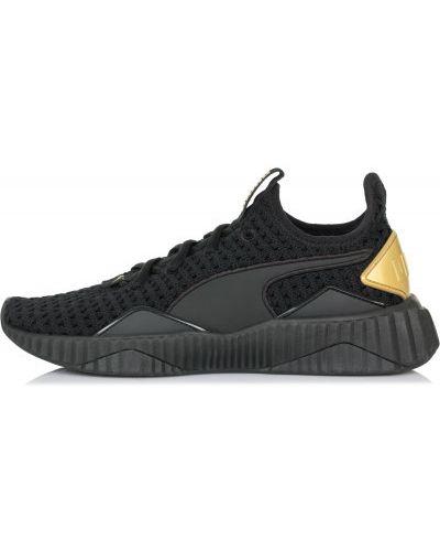 Черные кроссовки для бега Puma