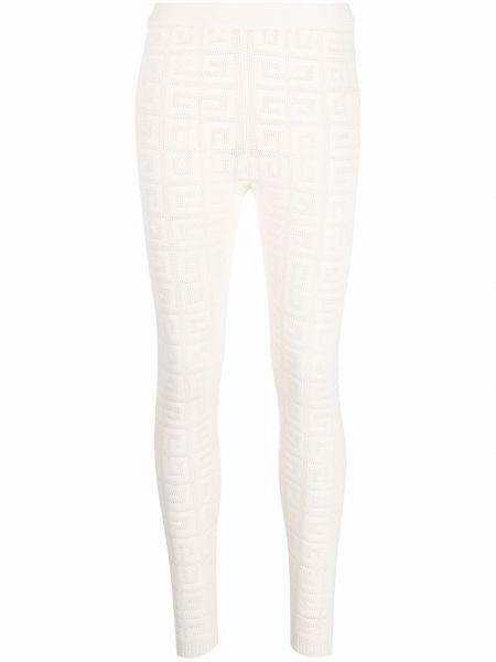 Legginsy - białe Givenchy