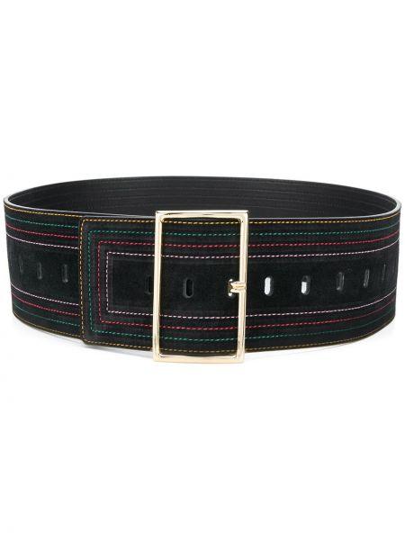 Кожаный черный ремень с пряжкой с поясом Ba&sh