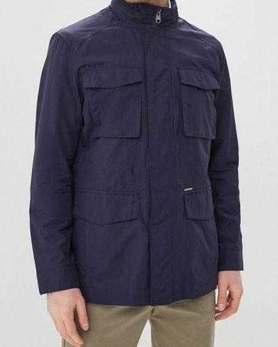 Куртка легкая синяя Cortefiel