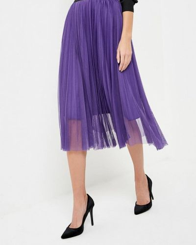 Фиолетовая юбка Sh