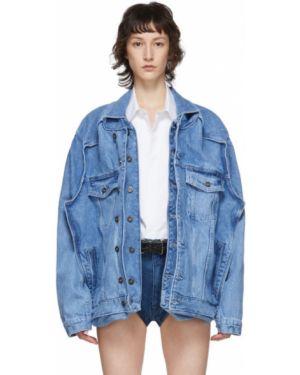 Джинсовая куртка длинная на пуговицах Y Project