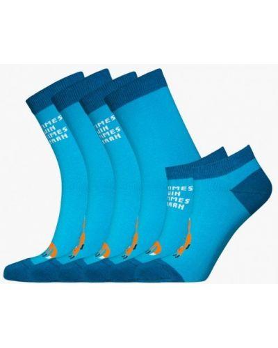 Носки набор голубой Bb Socks