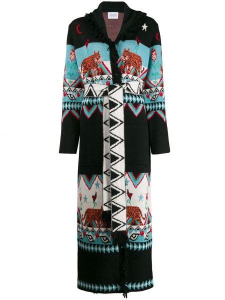 Długi płaszcz z kieszeniami z paskiem Hayley Menzies