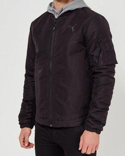 Утепленная куртка черный Puma