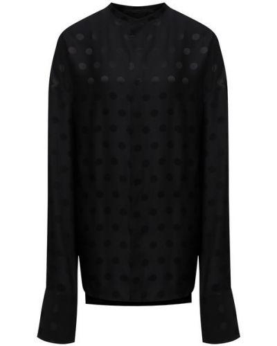 Шелковая блузка - черная Haider Ackermann