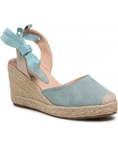 Sandały espadryle - niebieskie Jenny Fairy