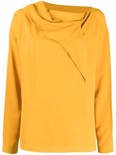 Блузка с длинным рукавом желтый Cedric Charlier