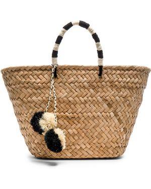Czarna torba na ramię Kayu