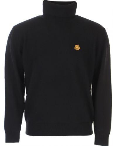 Czarny sweter bawełniany Kenzo