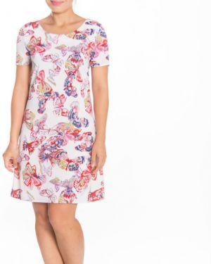 Платье мини в цветочный принт Lautus