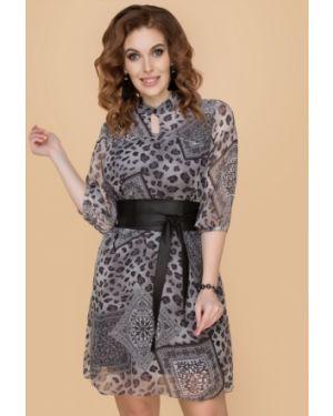 Летнее платье с поясом платье-сарафан Belluche