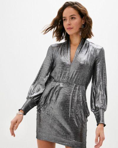 Вечернее платье - серебряное Ba&sh