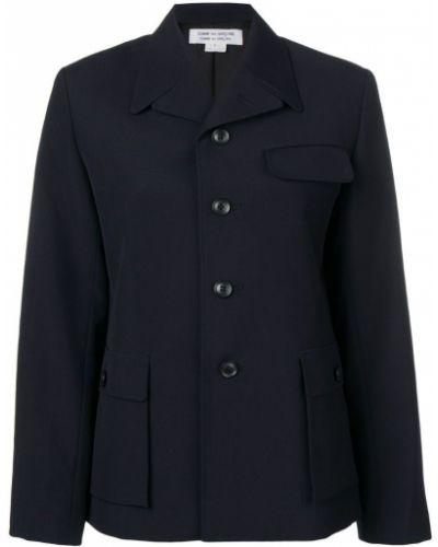 Пиджак с накладными карманами однобортный Comme Des Garçons Comme Des Garçons