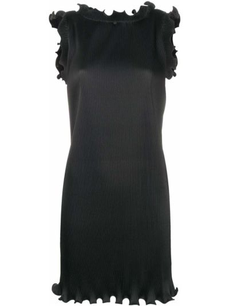 Черное платье мини с вырезом без рукавов Marc Jacobs