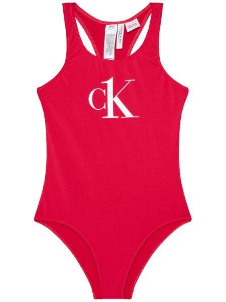 Strój kąpielowy - różowy Calvin Klein Swimwear