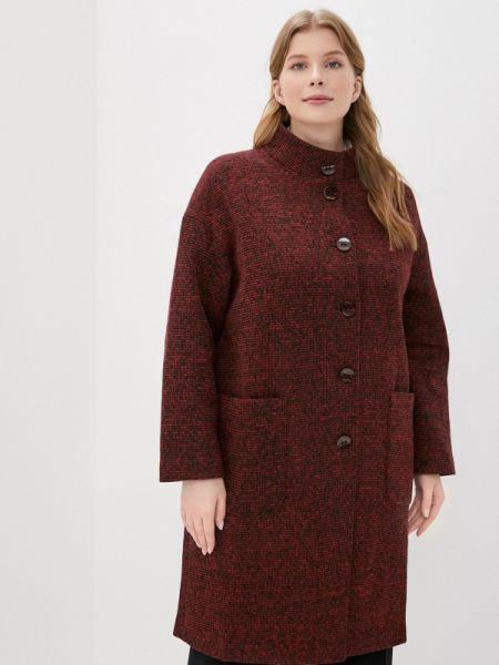 Пальто демисезонное бордовый Amarti
