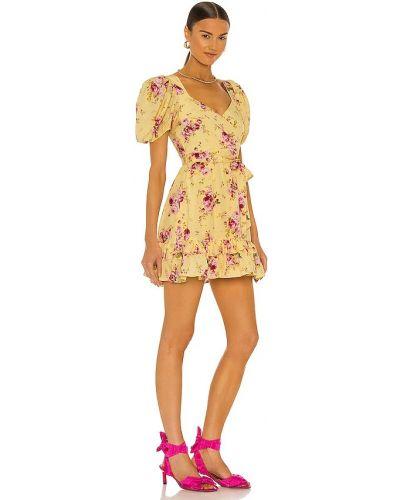 Żółta sukienka mini Likely