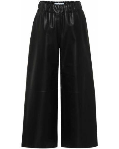 Укороченные палаццо - черные Loewe