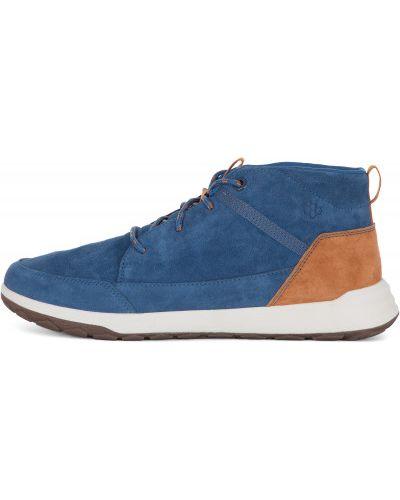Кожаные ботинки синий Caterpillar